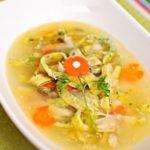 Итальянский суп - лапша