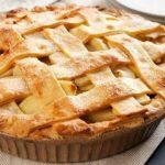 Американский яблочный торт