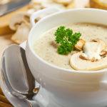 Картофельный суп с грибами