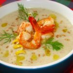 Вьетнамский суп с креветками