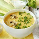 Суп с курицей и сливками