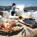 Обед на яхте в Испании