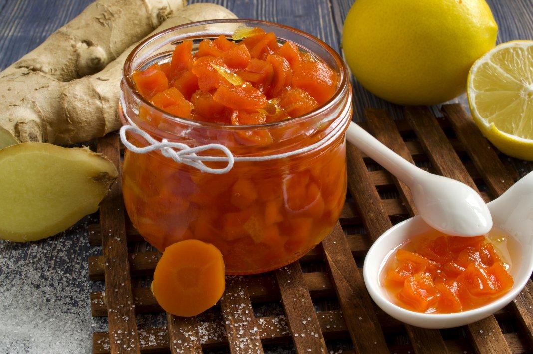 Как приготовить варенье из моркови