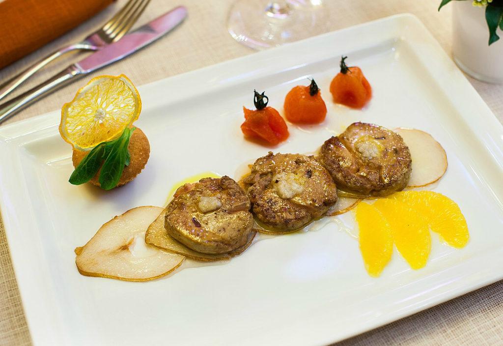 блюдо французской кухни Фуа-гра