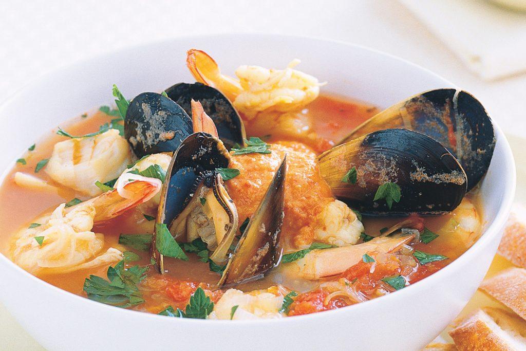Буйабес блюдо французской кухни