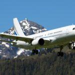 Питание VIP-класса в арендованном самолёте  ACJ320
