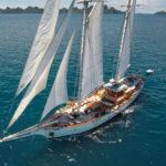 Чартер PEARL OF THE SEA + экипаж, услуги VIP-класса, питание