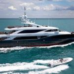 Чартер ISA 50m LIBERTY + экипаж, услуги VIP-класса, питание