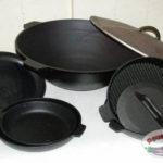Преимущества приготовления пищи в посуде из чугуна