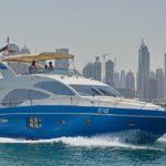 Чартер Majesty 77ft + экипаж, услуги VIP-класса, питание