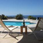 Роскошная вилла  4 сп с бассейном и видом на море с включенным питанием