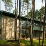 Эксклюзивный дом с видом на сосновый лес. с включенным питанием